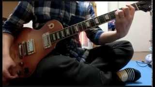嵐の『 素晴らしき世界 』をギターで弾いてみました。 クリーン、アコギ...