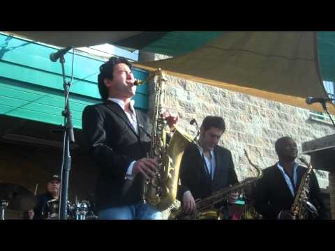 Sax Pack performs Fallen for You Live at Thornton Winery