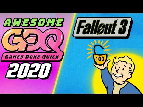 Awesome Games Done Quick 2020.Fallout 3 100 Speedrun Agdq 2020 Submission Heavy Commentary