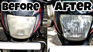 Headlight Restoration (cleaning) for all cars and motorcycles!!!