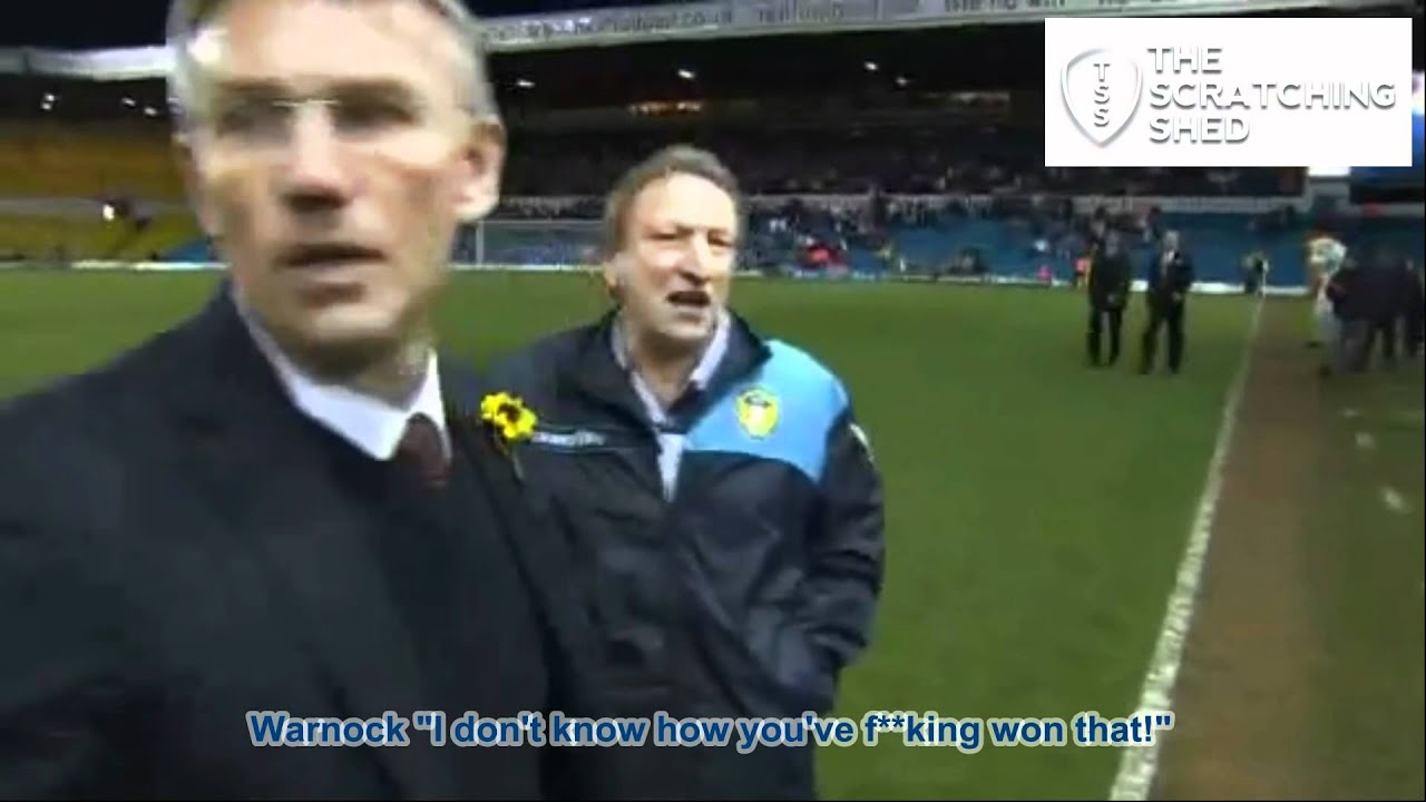 Neil Warnock Quot I Don T How You Ve F Ing Won That Quot Youtube
