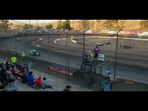 Bakersfield Speedway Bud Nationals Saturday night October 12, 2019 Modlites heat race 3. - dirt track racing video image