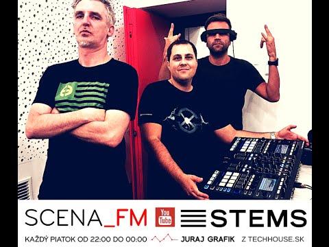 STEMS - predstavenie v programe SCENA_FM - Juraj Grafik z Techhouse.sk