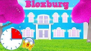 15 Minute MANSION Challenge In BLOXBURG! (Roblox)