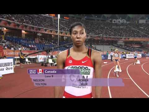 Delhi 2010 Womens 4x400m Final [720p]