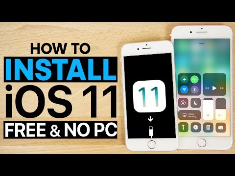 How To Install IOS 11 Beta 1 FREE No Computer - IPhone, IPad & IPod Touch