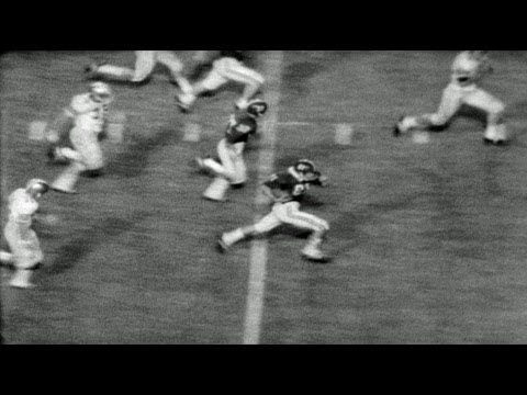 HD Historic Archival Stock Footage College Football ALABAMA VS. FLORIDA STATE 1951
