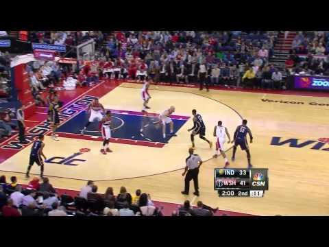 Indiana Pacers vs Washington Wizards | March 28, 2014 | NBA 2013-14 Season