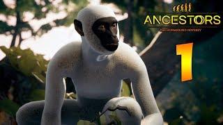 Ancestors: The Humankind Odyssey. Прохождение. Часть 1 (Симулятор обезьяны)