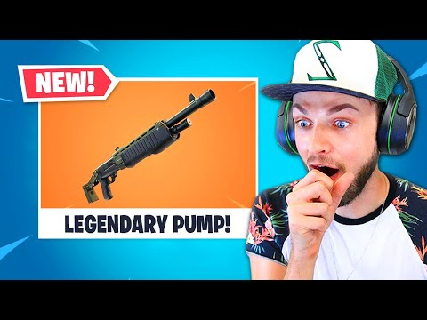 NEW LEGENDARY Pump in Fortnite!