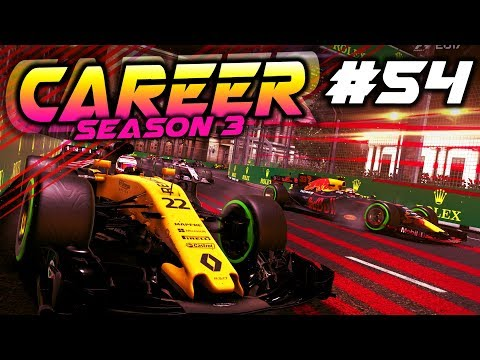 F1 2017 Career Mode Part 54: ABSOLUTE DISASTER RACE WEEKEND