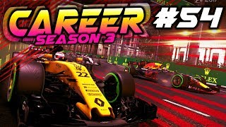 F1 2017 Career Mode Part 54: ABSOLUTE DISASTER RACE WEEKEND