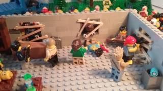 Лего самоделка #33 на тему Walking Dead  (толпа мертвецов!!!)