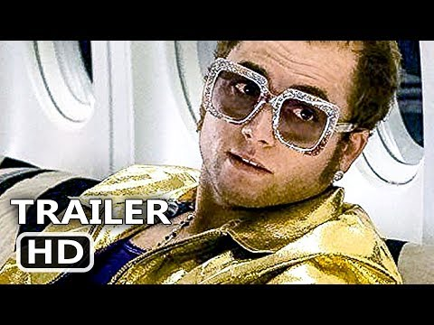 ROCKETMAN Official Trailer (2019) Taron Egerton, Elton John Biopic Movie HD