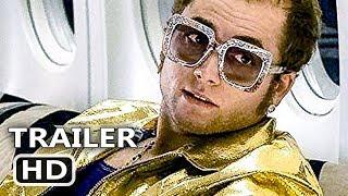 ROCKETMAN Official Trailer (2019) Taron Egerton, Elton John Biopic Movie HD