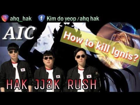 "《AHQ HAK》 Thailand rank Tier1 ""Easy Kill Ignis?"" #AIC #Rov #傳說對決 #LiênQuânMobile #펜타스톰"
