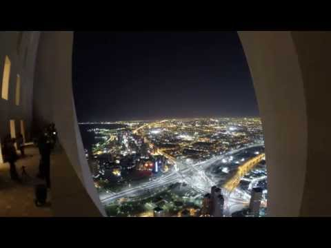 Time lapse From Al-Hamra Tower