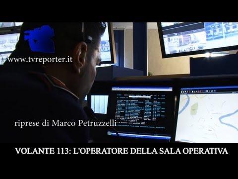VOLANTE 113: L' OPERATORE RADIO DELLA SALA OPERATIVA