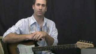 Blues Guitar Lesson - How To Play Blues Guitar With 4 Notes
