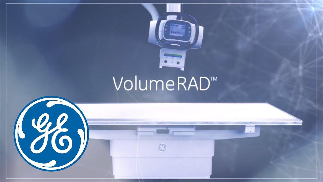 GE Healthcare X-ray: VolumeRAD Digital Tomosynthesis