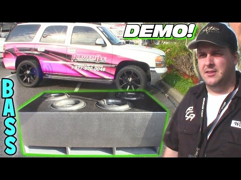 $2,000 Subwoofer Setup w/ The World Famous Drew Wesley 6,000 Watt Car Audio BASS Install at SBN 2016