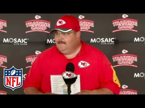 Andy Reid Tells Imposter at Presser to 'Go Get a Hamburger' | NFL