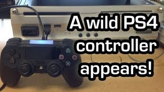 Playstation 4 controller analysis based on leaked image