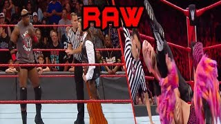 WWE Constable Baron Corbin Vs Tyler Breeze & Bobby Lashley Is Attacked By A Fan:Raw,13 August 2018