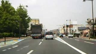 国道53号線 岡山~津山 6分割