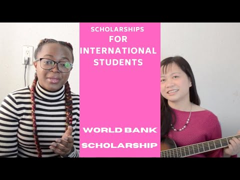 How To Get A Lot of Scholarships Ep 20 | World Bank Scholarship #studyforfree #fullyfunded