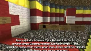 Stronghold Minecraft - HAMACHI, SERVEUR CRACK 1.3.1. [FR] !!!NEW!!!