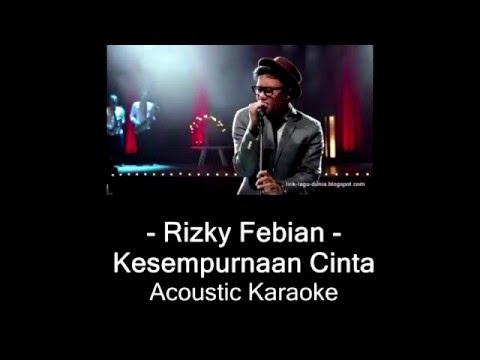 Rizky - Kesempurnaan Cinta (Karaoke Version)
