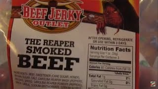 I Review The Beef Jerky Outlet Reaper Smoked Jerky