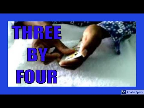 MAGIC TRICKS VIDEOS IN TAMIL #152 I THREE BY FOUR @Magic Vijay