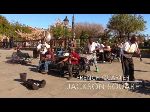 Street Music - Jackson Square, French Quarter - Vieux Carre, New Orleans