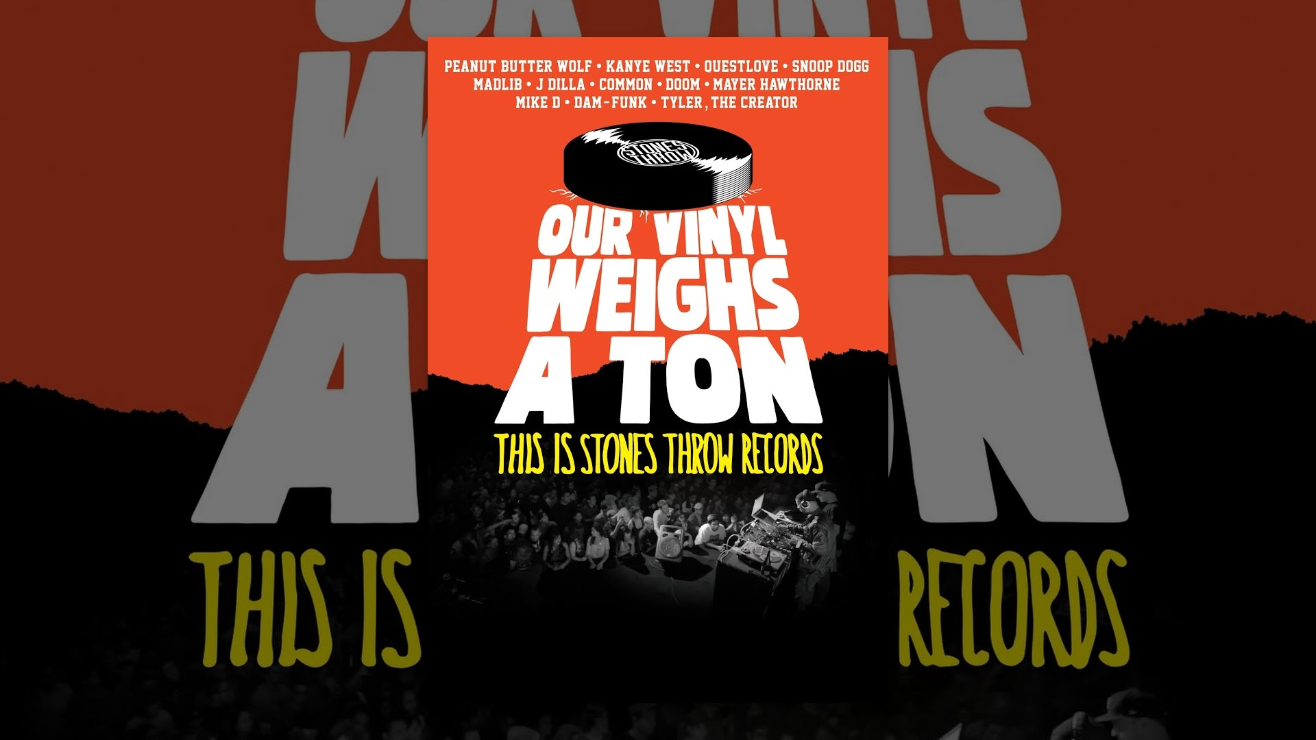 Our Vinyl Weighs A Ton This Is Stones Throw Records Youtube