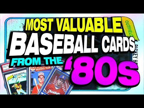 top-25-most-valuable-baseball-cards-from-the-1980's---update-with-giveaway!