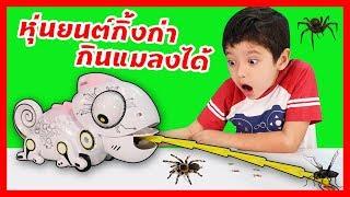 สกายเลอร์ | หุ่นยนต์กิ้งก่า กินแมลงได้ เปลี่ยนสีได้ ของเล่นสุดเจ๋ง ที่ได้รับรางวัล [Robo Chameleon]