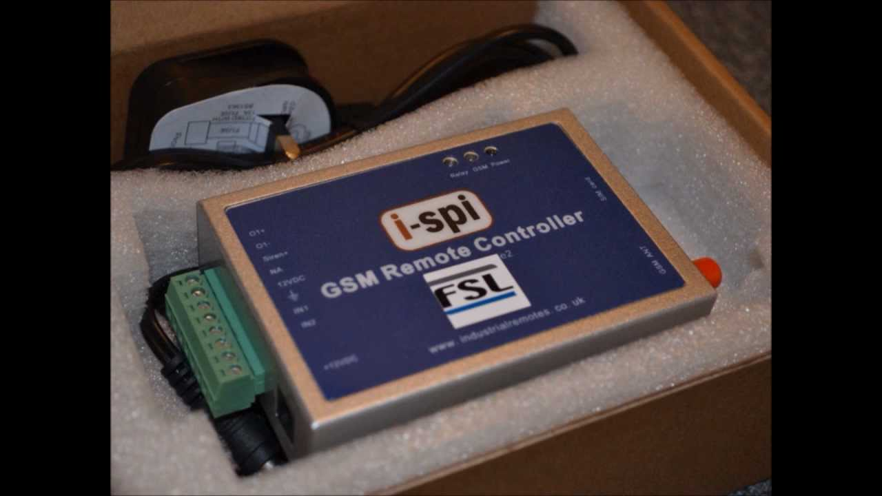 GSM Remote Controller