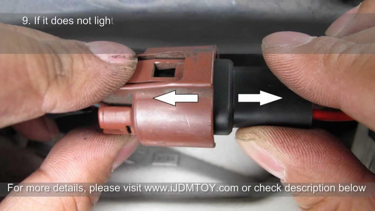 hid xenon light подключение схема фото