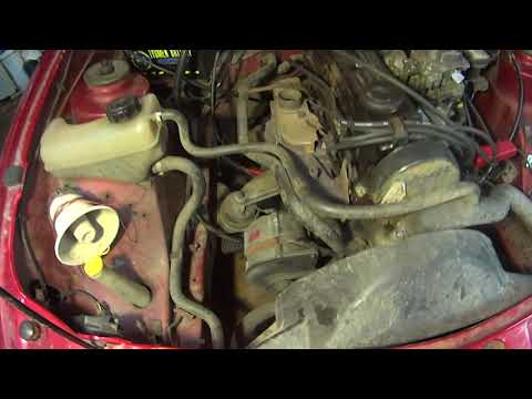 Ford Sierra 1.6 после ремонта.