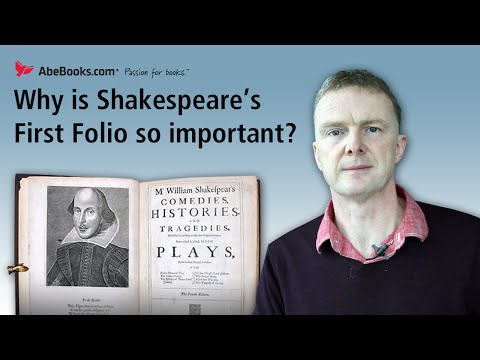 Why is Shakespeare's First Folio so important?