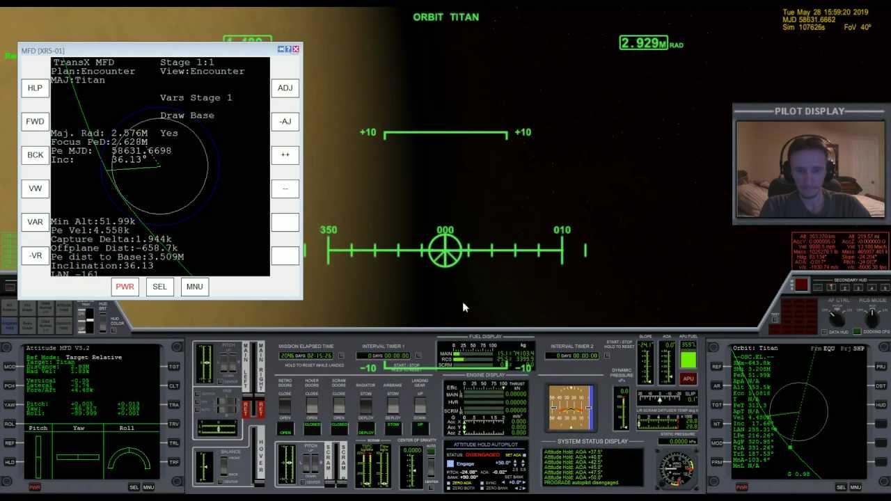 Download Orbiter 2010 - Learn With Me #2 (Part 6) - Titan Orbit Insertion