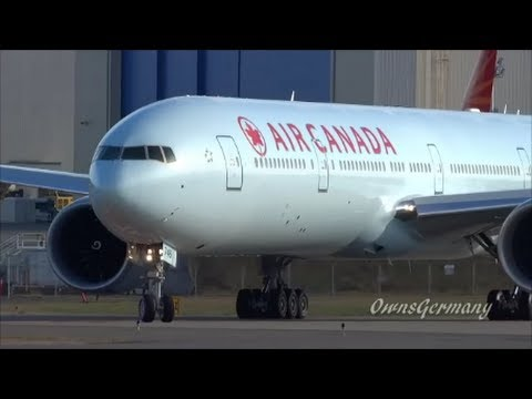 delivery flight wing wave air canada c fnnu boeing 777. Black Bedroom Furniture Sets. Home Design Ideas