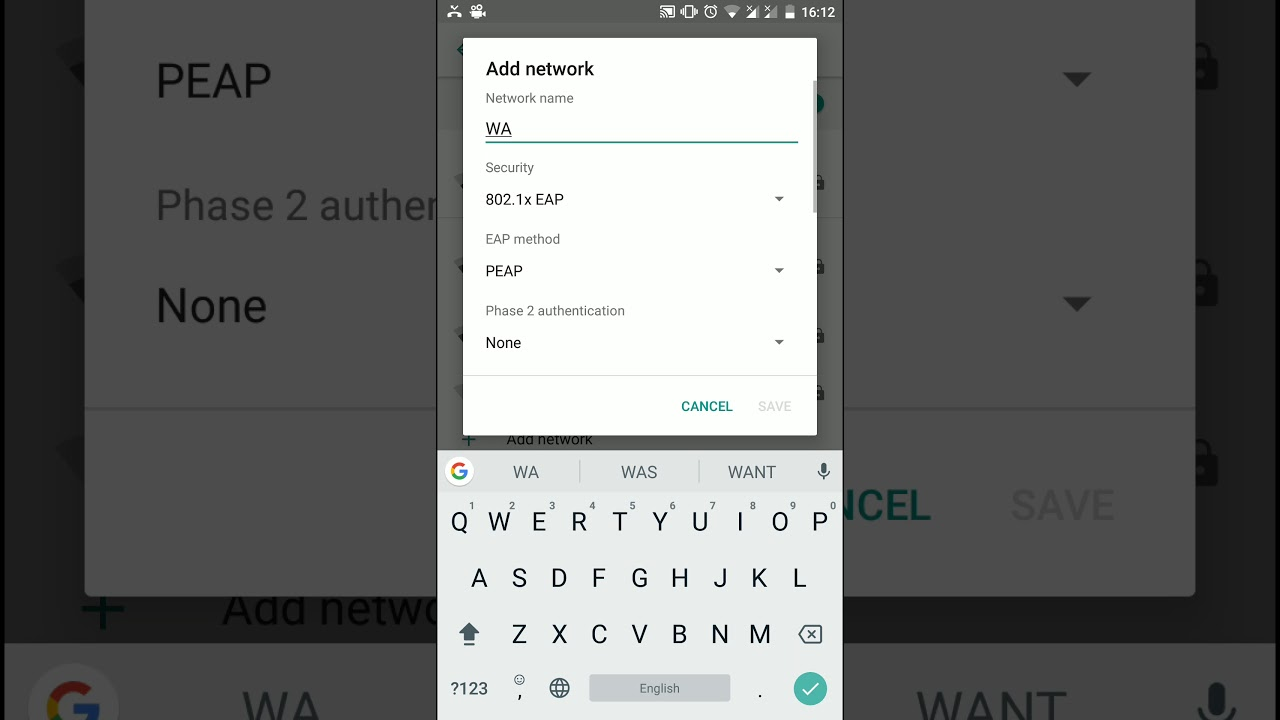 802 1x EAP Network issue in Mi A1