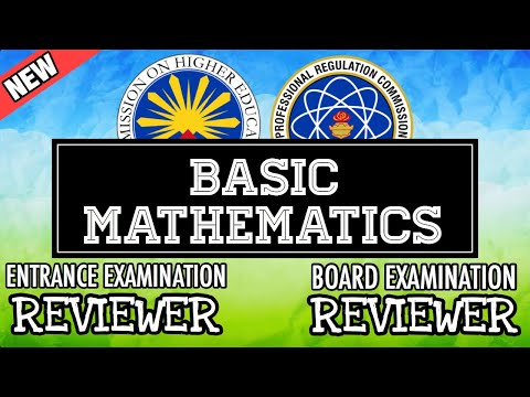 Entrance Exam Reviewer | Common Questions With Answer In General Mathematics
