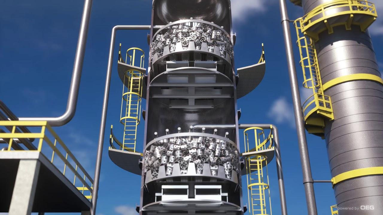 Vacuum Tower Internals - YouTube