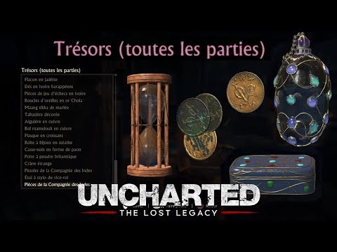 UNCHARTED: The Lost Legacy: Tous Les Trésors (68) / Collecti