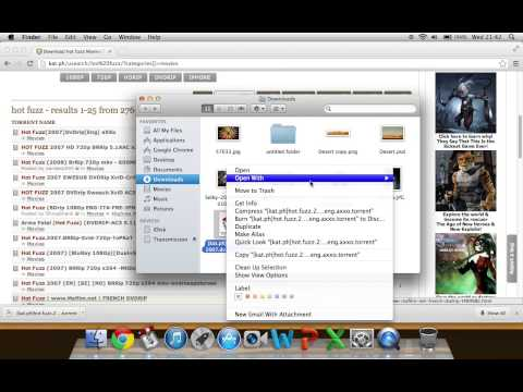 How To Download Movies/files Using Transmission (mac)