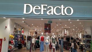 Обзор магазина Defacto и магазин обуви Аяккабы Дуньясы